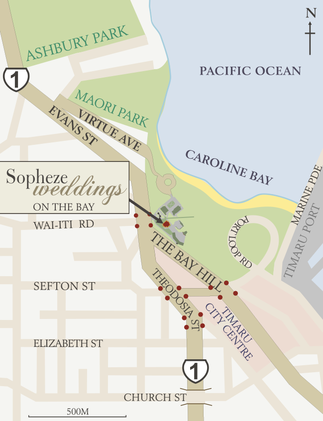 SOPHEZE Location map